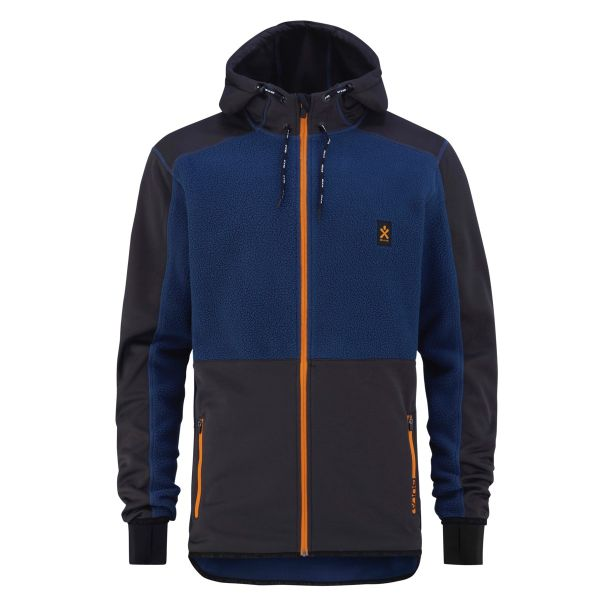Fleece Zip Hood